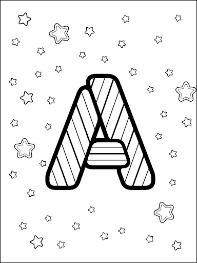 ABC COLORING FOR KIDS