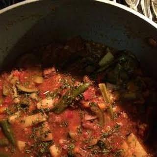 Italian Lamb Stew.