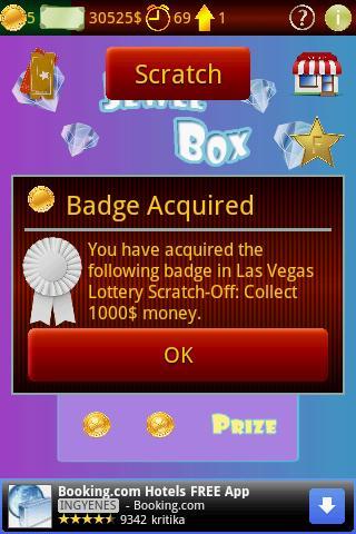 Las Vegas stírací loterie androidhry