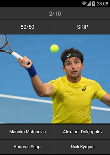 猜想:網球