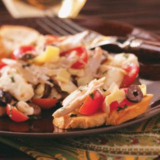 Chicken Salad Caprese