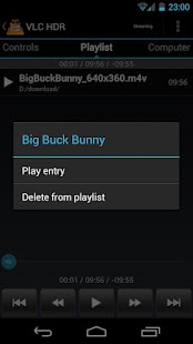 VLC HD Remote (+ Stream) - screenshot thumbnail