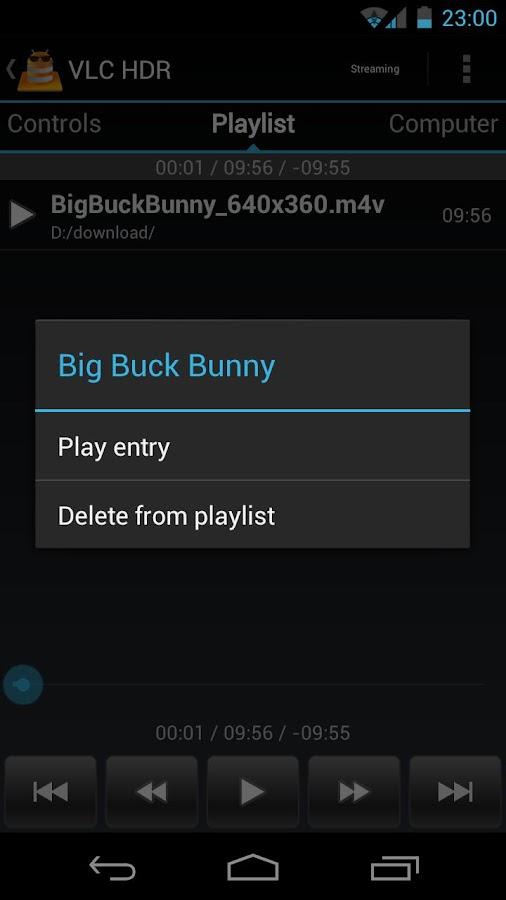 VLC HD Remote (+ Stream) - screenshot