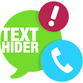 Hide Text SMS & Calls