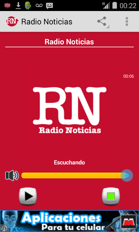 Radio Noticias Web- screenshot