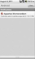 Screenshot of Aquarius Memorandum