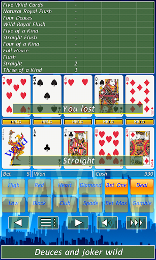 Video Poker Slot Machine.  screenshots 4