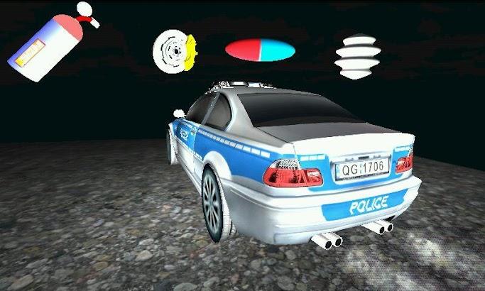 Toddler 3D Kids Car Toy Police- screenshot thumbnail