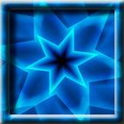 Blue Swirling Star LWP icon