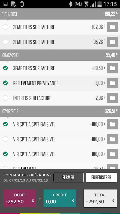 Mes Comptes BNP Paribas - screenshot