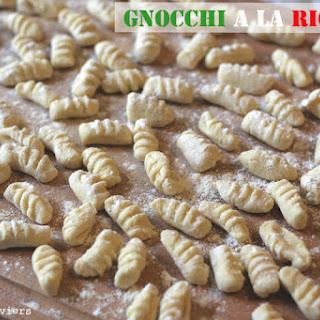Ricotta Gnocchi.