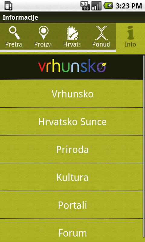Vrhunsko- screenshot