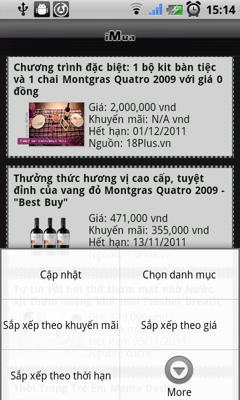 iMua - Vina Deal- screenshot
