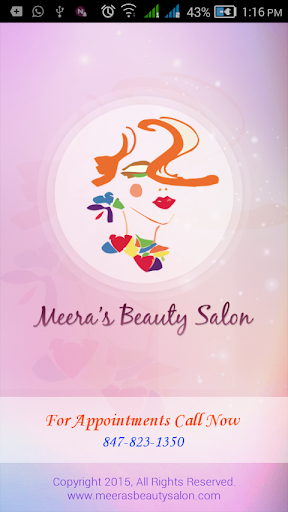 Meera's Beauty Salon App