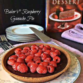 Baker's® Raspberry Ganache Pie.