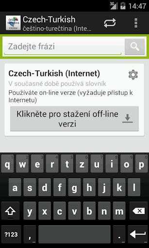 Češtino-Turečtina slovník