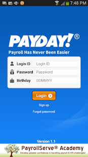 PayDay! SaaS- screenshot thumbnail