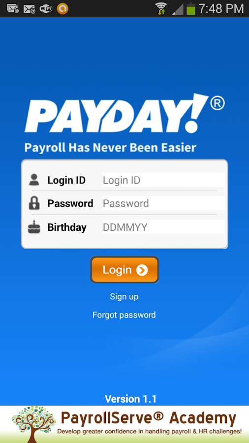 PayDay! SaaS- screenshot