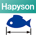 Hapyson fishing measurement icon