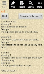 English Grammar -Phrasal Verb- screenshot thumbnail