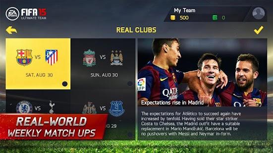FIFA 15 Soccer Ultimate Team Screenshot 19