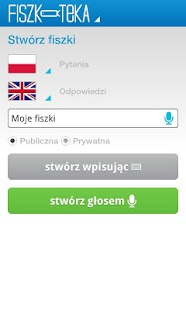 Fiszki - Fiszkoteka® Android - screenshot thumbnail