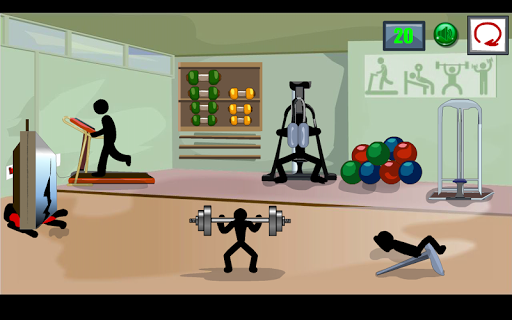 Stickman Death Gym 2