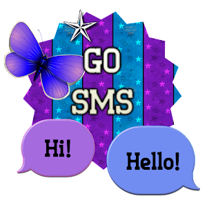 Go more links apk ButterflyStar/GO SMS THEME  for HTC one M9
