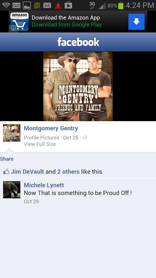 Montgomery Gentry Fans - screenshot