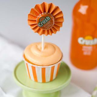 Delicious Orange Cream Cupcakes.