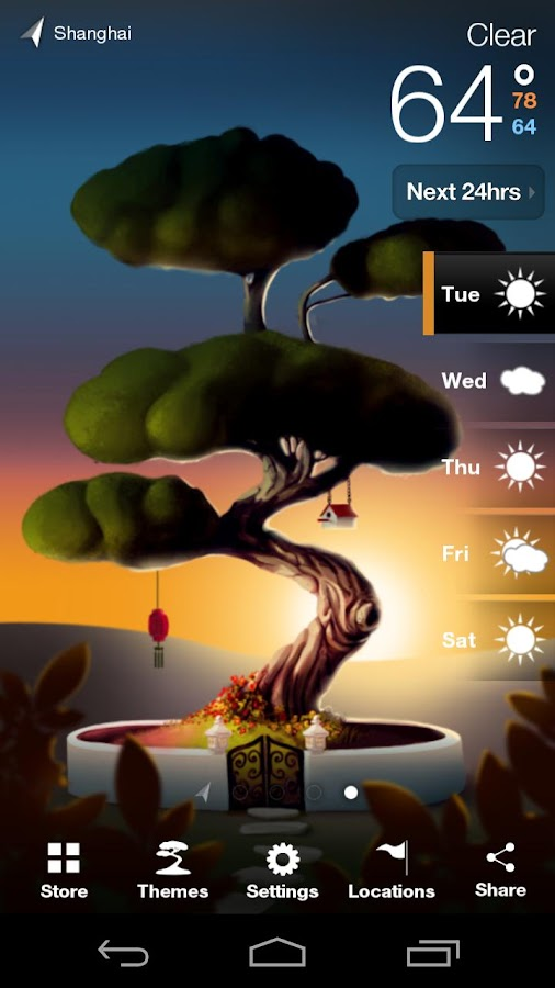 Weatherwise - screenshot