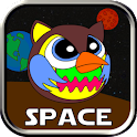 Angry Owl Space icon