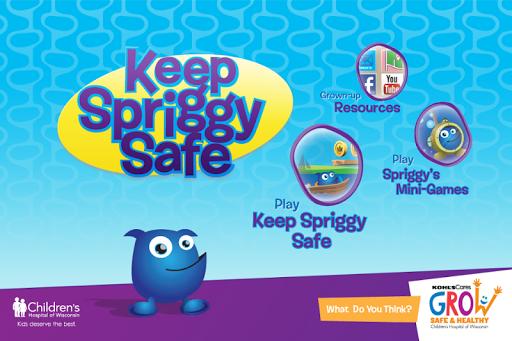 Keep Spriggy Safe: Game