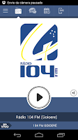 Screenshot of 104 FM Goioerê