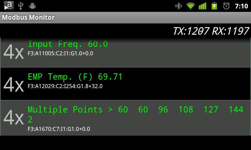 Modbus Monitor- screenshot