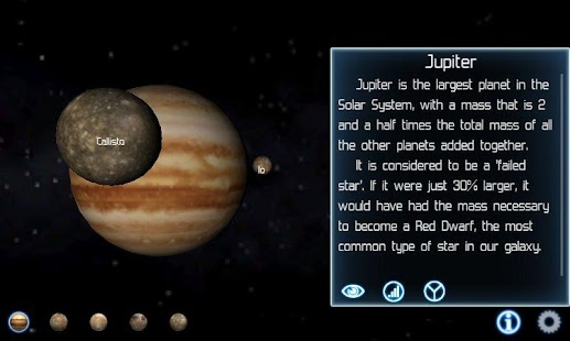 Solar System Explorer Lite - screenshot thumbnail