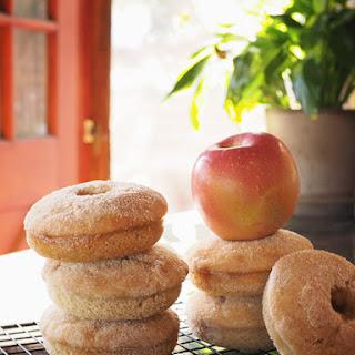 Baked Cinnamon-Applesauce Donuts