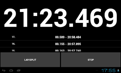 Simple Stopwatch Pro screenshot 8