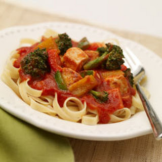 Chicken & Pasta Primavera Recipe