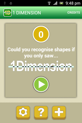 1 Dimension