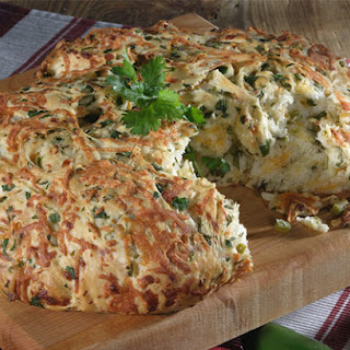 Chopped Jalapeno Cheese Bread