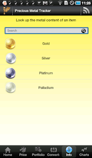 Gold & Silver Price Tracker - screenshot thumbnail
