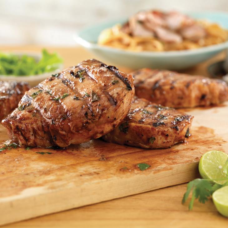 Thai Ribeye Pork Chops Recipe