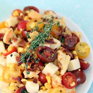 Mozzarella, Bacon and Corn Salad