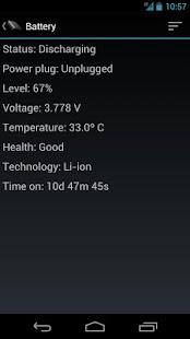 Phone Tester (sensors, GPS...) - screenshot thumbnail