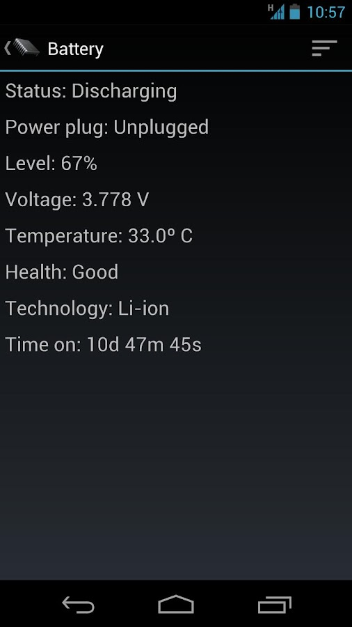 Phone Tester (sensors, GPS...) - screenshot