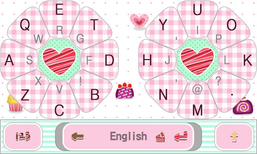 Cakes Bakery Keyboard