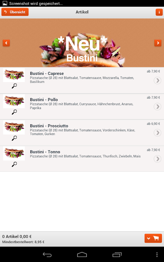 Pizza Busters- screenshot