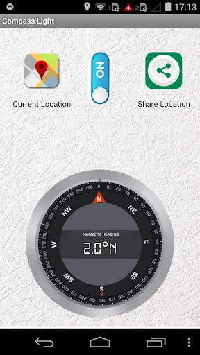 Digital Compass Flash Light