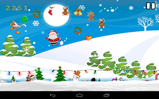 Flying Santa Christmas Game